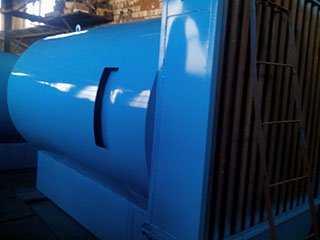 Топочный агрегат на твердом топливе